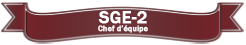 SGE-2 Chef d'équipe