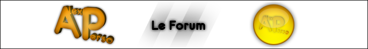 Forum perso d'Alex :)