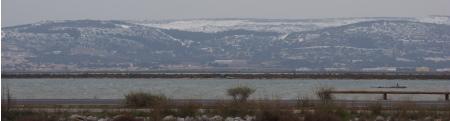 forum frontignan, La gardiole se pare d'un manteau neigeux