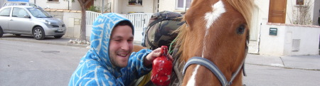 forum frontignan, un paysan sans terre de passage à Frontignan