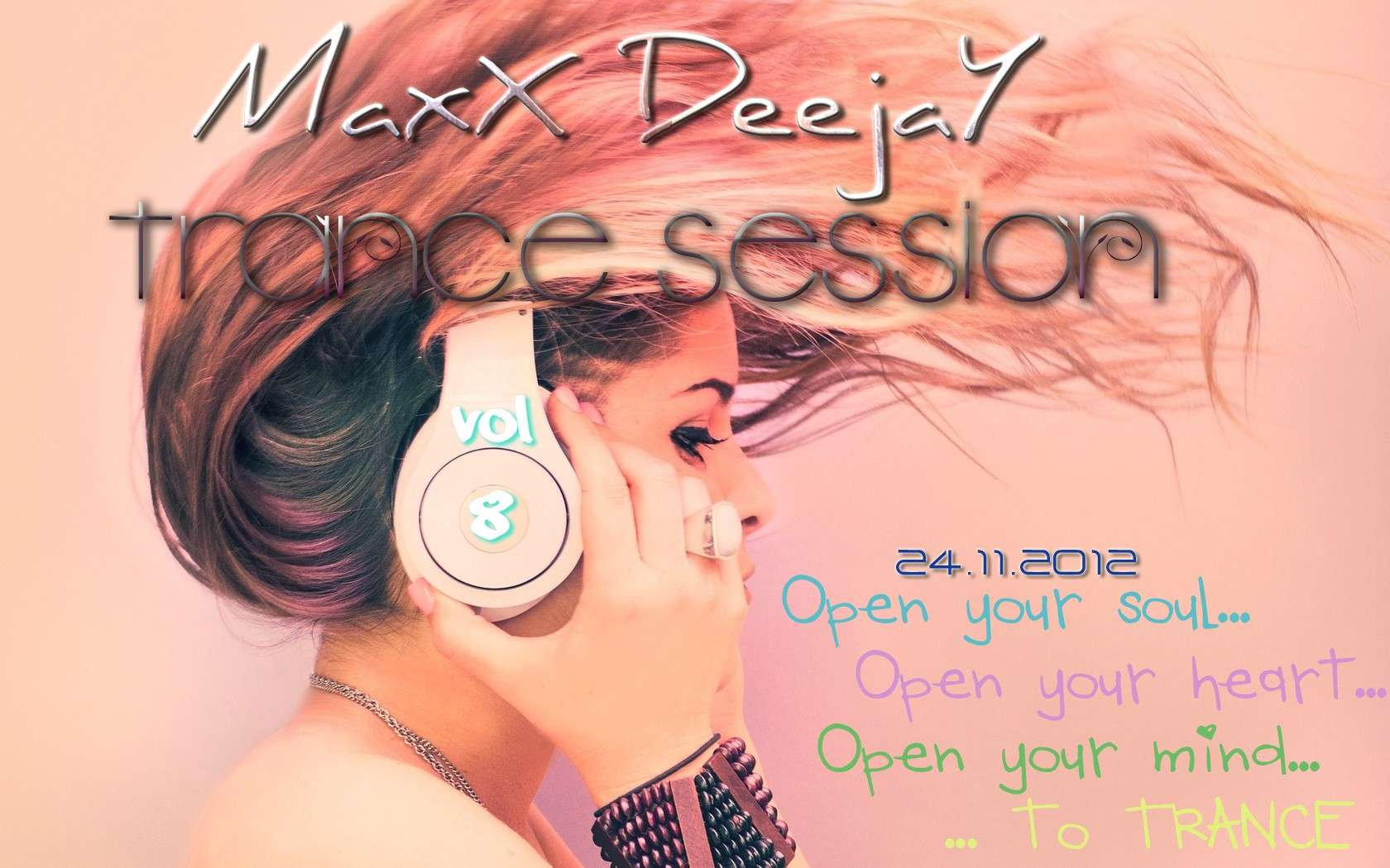 MaxX DeejaY - Trance Session vol 8 (24.11.2012)
