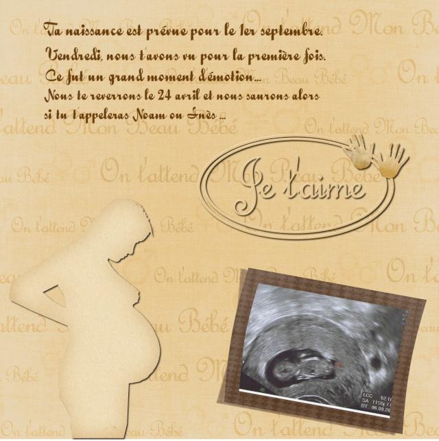 Fabuleux Comment avez-vous annoncé votre grossesse à vos proches ? - Coups  HX13
