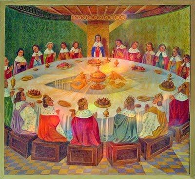 L 39 histoire du roi arthur - La table ronde vinon sur verdon ...