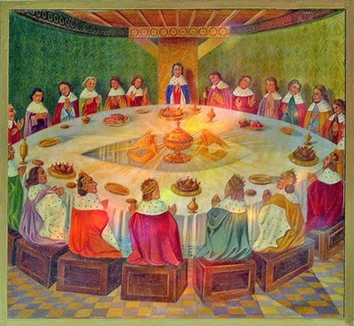 L 39 histoire du roi arthur - Keu chevalier de la table ronde ...