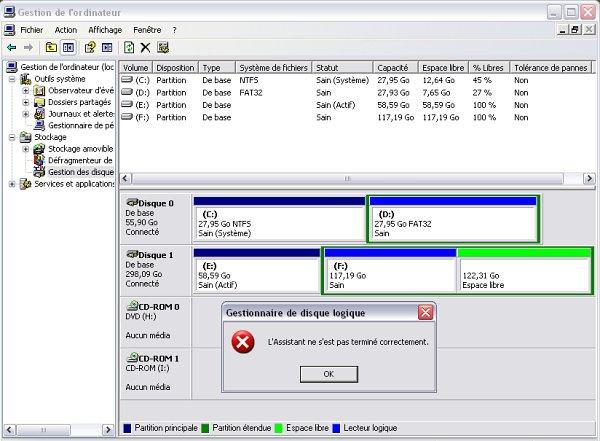 Formatage disque dur externe logiciel