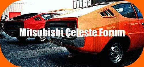 Mitsubishi Celeste Forum