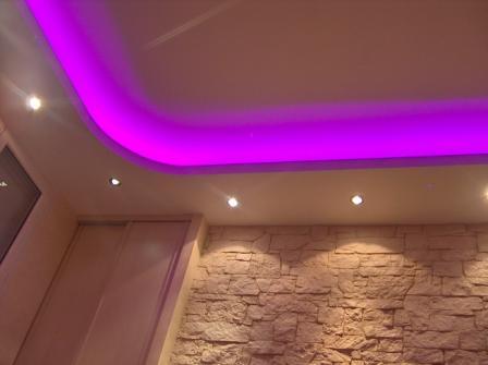 Conseils faux plafond id es photos page 1 - Comment faire un faux plafond avec spot ...
