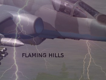 Flaming Hills