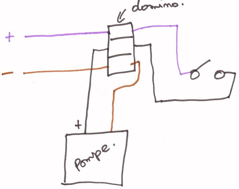 est ce que mon schma lectrique pompe eau est correct valdunord. Black Bedroom Furniture Sets. Home Design Ideas