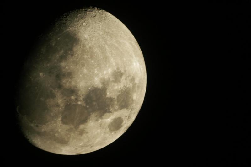 photo lunaire du 22 janvier