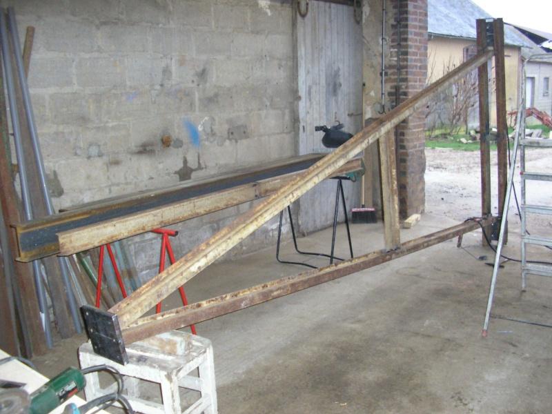 Fabriquer Un Portique En Bois - Fabrication et utilisation d'un portique de levage pour l'atelier