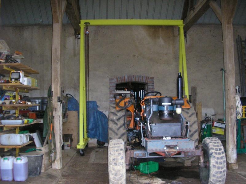 Super fabrication d'un portique de levage pour l'atelier SH22