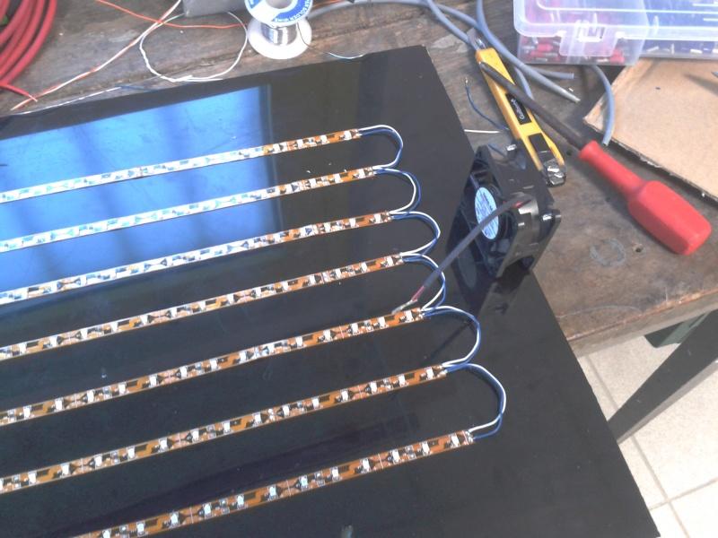 Bricolage d 39 un panneau a led pour serre - Comment marche un panneau solaire ...