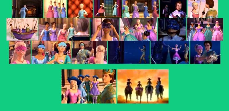 Barbie et les trois mousquetaires - Barbie et les 3 mousquetaires ...