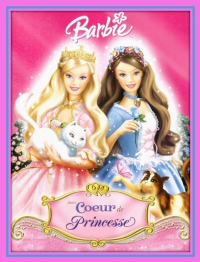 Barbie coeur de princesse - Barbie en princesse ...