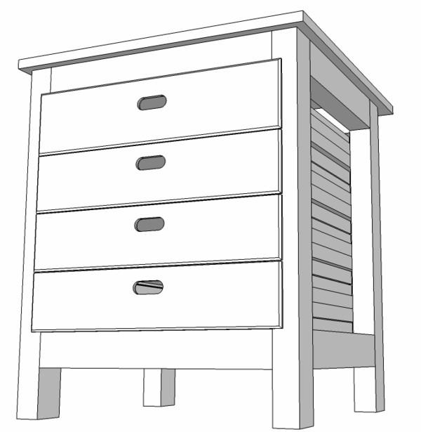 Meuble support pour perceuse d 39 atelier for Meuble a tiroir pour atelier
