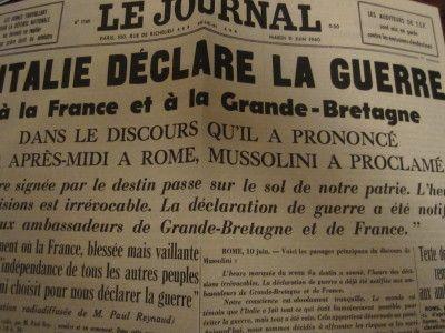 Les Italiens entrent dans le conflit  89232110