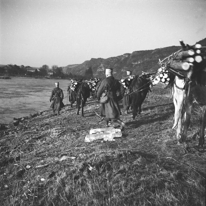 La 3e BS (Brigade de Spahis) dans les Ardennes pendant la drôle de guerre. 9armee10