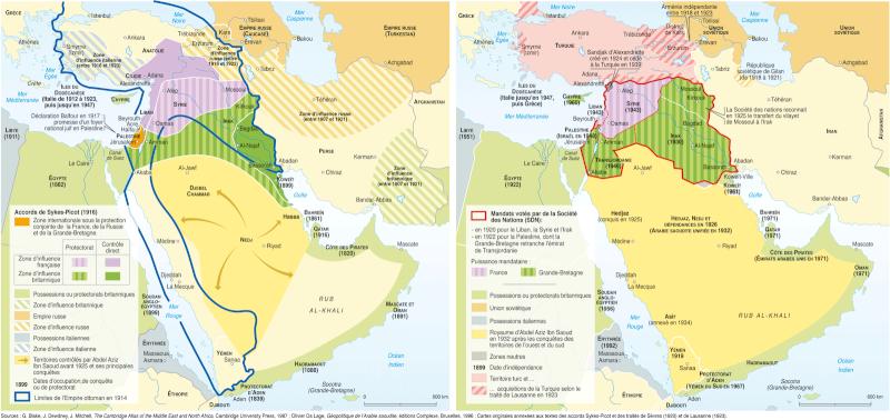 Comment l'Empire ottoman fut dépecé accord10
