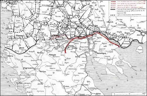 Le front d'Orient : 1915 - 1919 front_10
