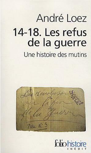 Les mutins de 1917  André LOPEZ mutins10