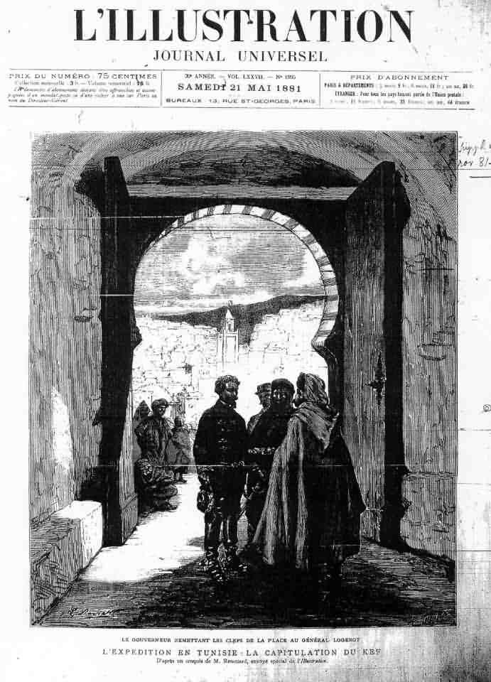 La prise de Kef dans l'Illustration Mai 1881 reddit10