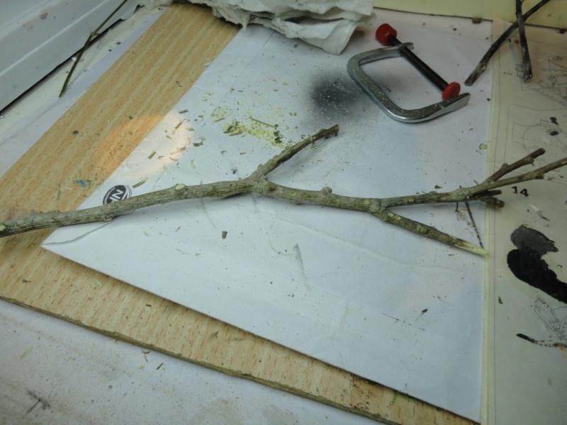 fabrication d 39 un arbre au 1 35. Black Bedroom Furniture Sets. Home Design Ideas