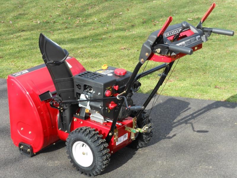Craftsman Lawn Tractor Snow Blower : Craftsman stage cc snowblower