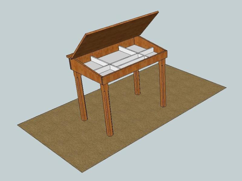 un petit bureau d 39 colier. Black Bedroom Furniture Sets. Home Design Ideas