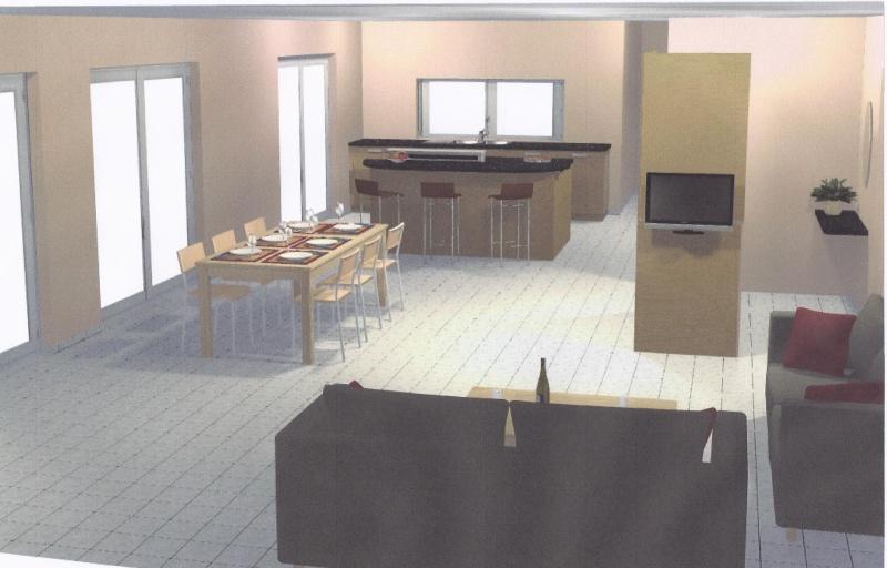 entr e directe dans le salon salle manger. Black Bedroom Furniture Sets. Home Design Ideas